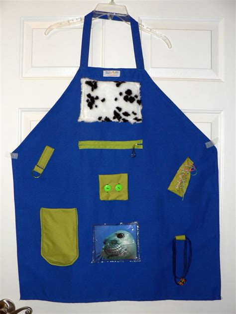 Pattern For Activity Apron | activity fidget aprons for dementia head trauma