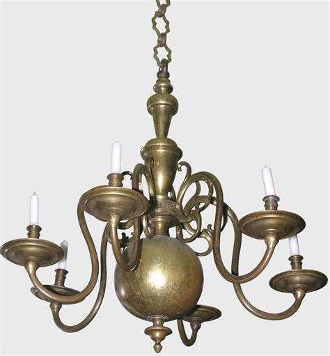 lustre hollandais ancien lustre hollandais 12 branches d 233 coration de no 235 l d 233 co 233 colo