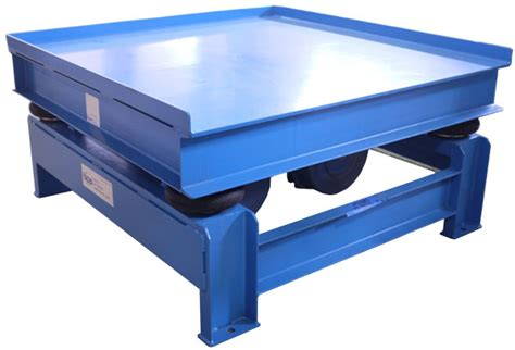 Vibrating Table by Vibrating Tables For Industrial Sized Compaction And