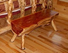 cedar log bench for the bus stop for the home pinterest 4 ft log bench rustic red cedar hancrafted log furniture best prices anywhere ebay