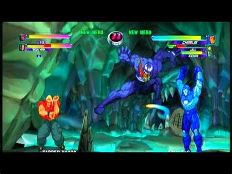 Marvel Vs Capcom 2 Venom Ironman War Machine