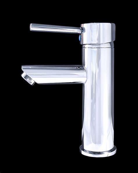 Modern Bathroom Finishes Frances Iii Chrome Finish Modern Bathroom Faucet