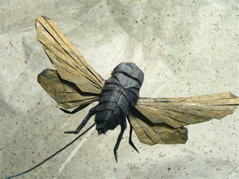 Origami Bugs - cicada 2