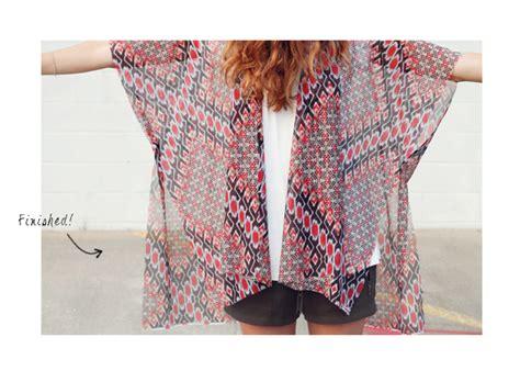 kimono jacket pattern diy never new some diy kimono ideas
