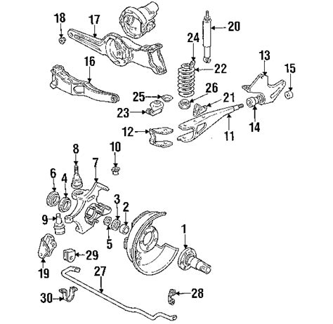 1995 ford f150 parts diagram parts 174 ford f 150 suspension components oem parts