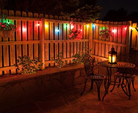 backyard christmas party ideas patio lighting ideas color me creative christmas