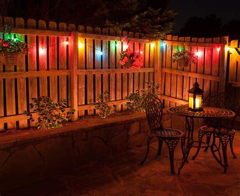 Patio Lighting Ideas: Color Me Creative!   Christmas