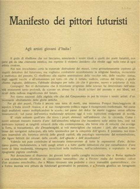 The Italian Manifesto by 1000 Images About Futurism On Planets