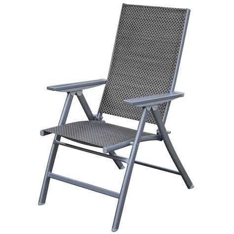 outdoor patio folding chairs outdoor chair with footrest