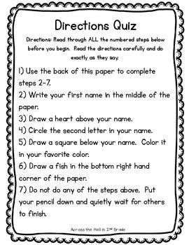 math worksheet follow directions trick. math. best free