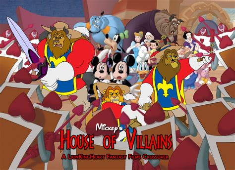 mickey house of villains mickey s house of villains a lionkingheart fantasy films crossover pooh s