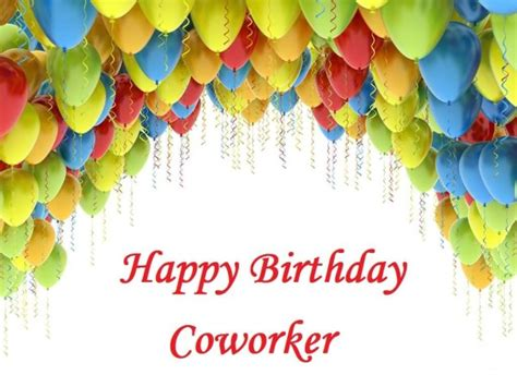 Happy Birthday Wishes Coworker Happy Birthday Wishes For Coworker