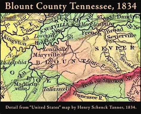 Blount County Records Blount County Tennessee Genealogy Census Vital Records
