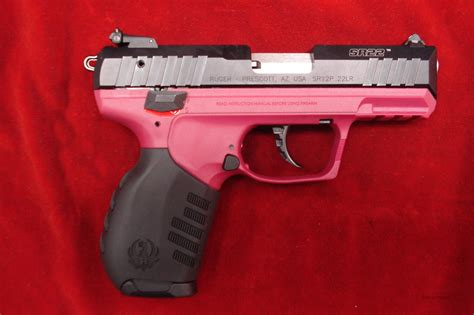 ruger sr22 colors ruger sr22 22lr cal raspberry color frame new for sale
