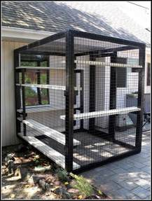 outdoor patio cat enclosures patios home decorating