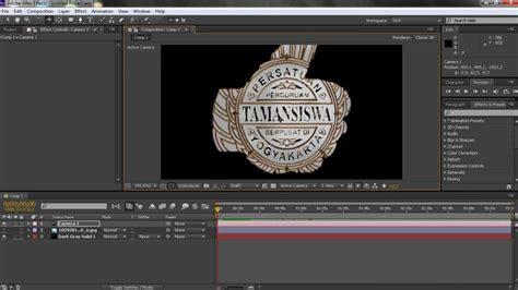 membuat iklan menggunakan after effect cara membuat logo 3d di after effect menggunakan plugin