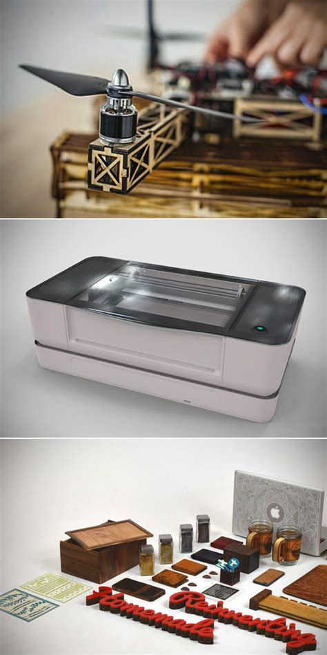 Glowforge 3d Printer glowforge 3d laser printer can create objects with leather fabric paper and more