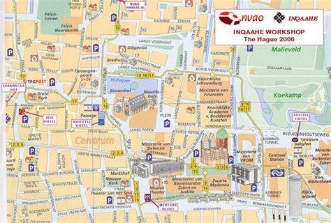 netherlands map den haag maps update 700714 the hague tourist map 12 top