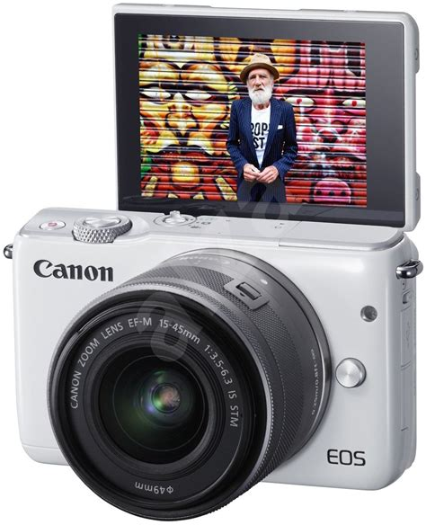 Eos M10 With Ef M 15 45mm White canon eos m10 white ef m 15 45 mm f3 5 6 3 is stm