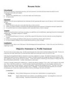 objective statement resume exles sle resume objective statement berathen