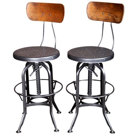 Metal Bar Stools Vintage by Amazing Vintage Metal Bar Stools Homesfeed
