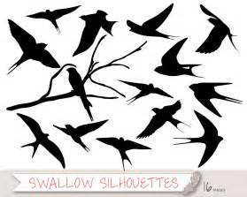 swallow silhouette clipart bird silhouette clipart swallow