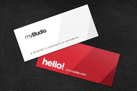mini card templates modern mini card business card templates on creative market