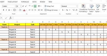 resource planning template excel based resource plan template free free project