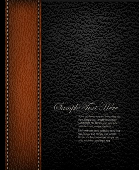 leather templates free vector leather backgrounds 03 millions vectors