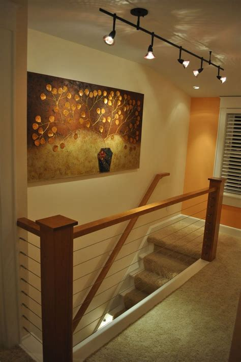 track lighting basement 121 best images about interior decor cable railings on