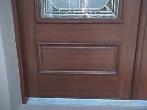 painting front doors to look like wood everything i