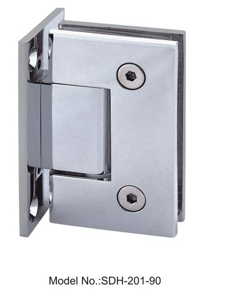 90 Degree Square Edged Shower Door Hinge Glass To Wall For Glass Shower Door Hinges