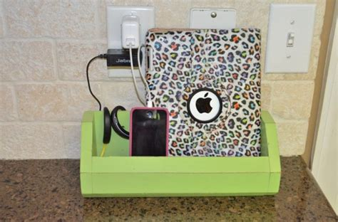 diy ipad charging station 27 diy charging station ideas to make more tidy cables