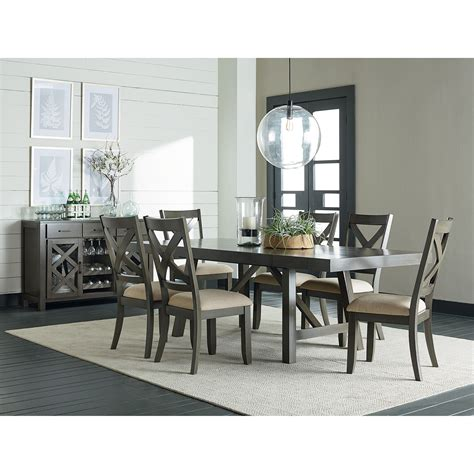 casual dining room furniture standard furniture omaha grey casual dining room group