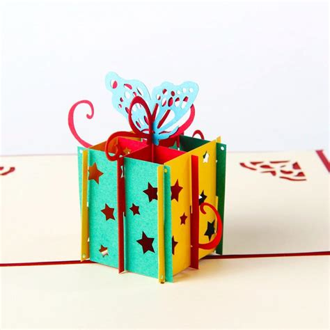 aliexpress gift card aliexpress com buy happy birthday gift box butterfly