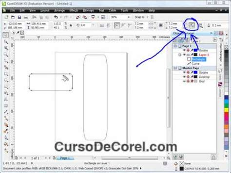 corel draw x5 youtube mejoras al corel draw x5 video curso rectangulos youtube