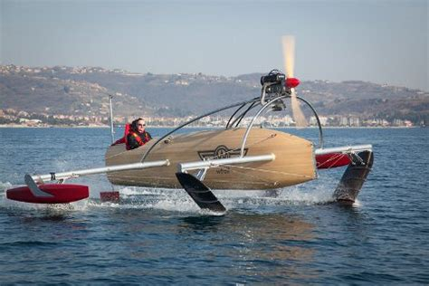 hobie hydrofoil boat retro look hydrofoil speedboat crazy fast crazy sexy