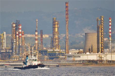 banco popolare siciliano milazzo raffineria di milazzo esposto alle procure di messina