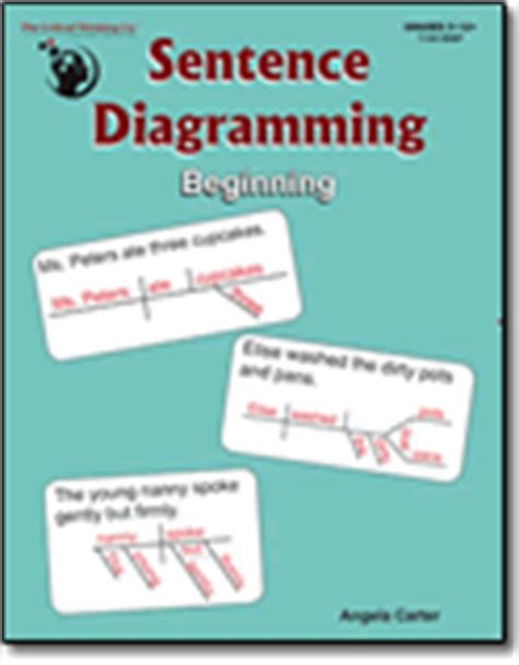 diagramming sentences book about sentence diagramming beginning