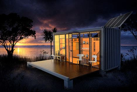 Ideas Shipping Container Design Port A Bach Mobile Fold Out Shipping Container Home