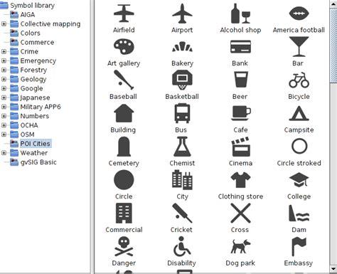 imagenes de simbolos usados en los mapas 161 gvsig 2 1 ya est 225 aqu 237 gvsig blog