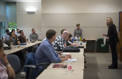 Executive Non Resident Mba by Val Ackerman Fall 2015 Mccormack Executive In Residence
