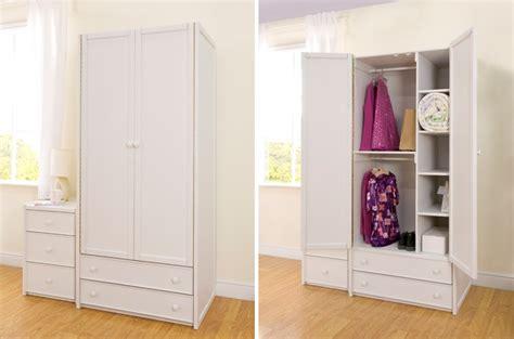Lemari Baju Warna Putih lemari pakaian minimalis kotak warna putih set jayafurni