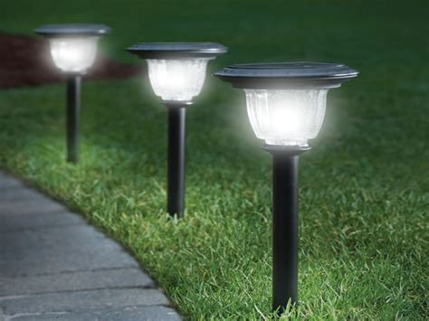 best solar led landscape lights home depot solar garden