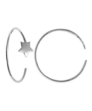 Boma Tiny Sterling Silver Hoops 174 best space gifts images on