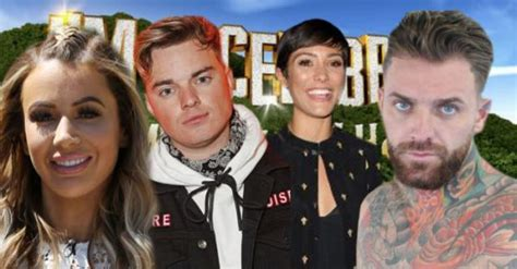 celebrity jungle cast 2018 i m a celebrity 2018 cast who s going into the jungle