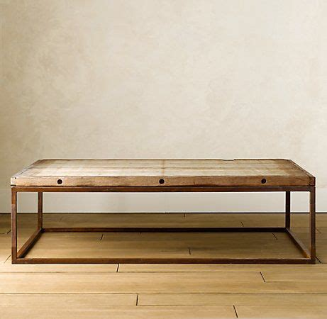 coffee table knock restoration hardware coffee table knock off 2 san miguel