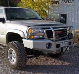 trail ready 10301g winch front bumper with guard