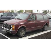 1989 Plymouth Grand Voyager  Information And Photos