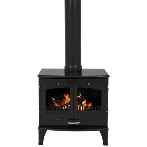 What Is A Solid Fuel Stove by Carron 11kw Solid Fuel Stove Black Enamel
